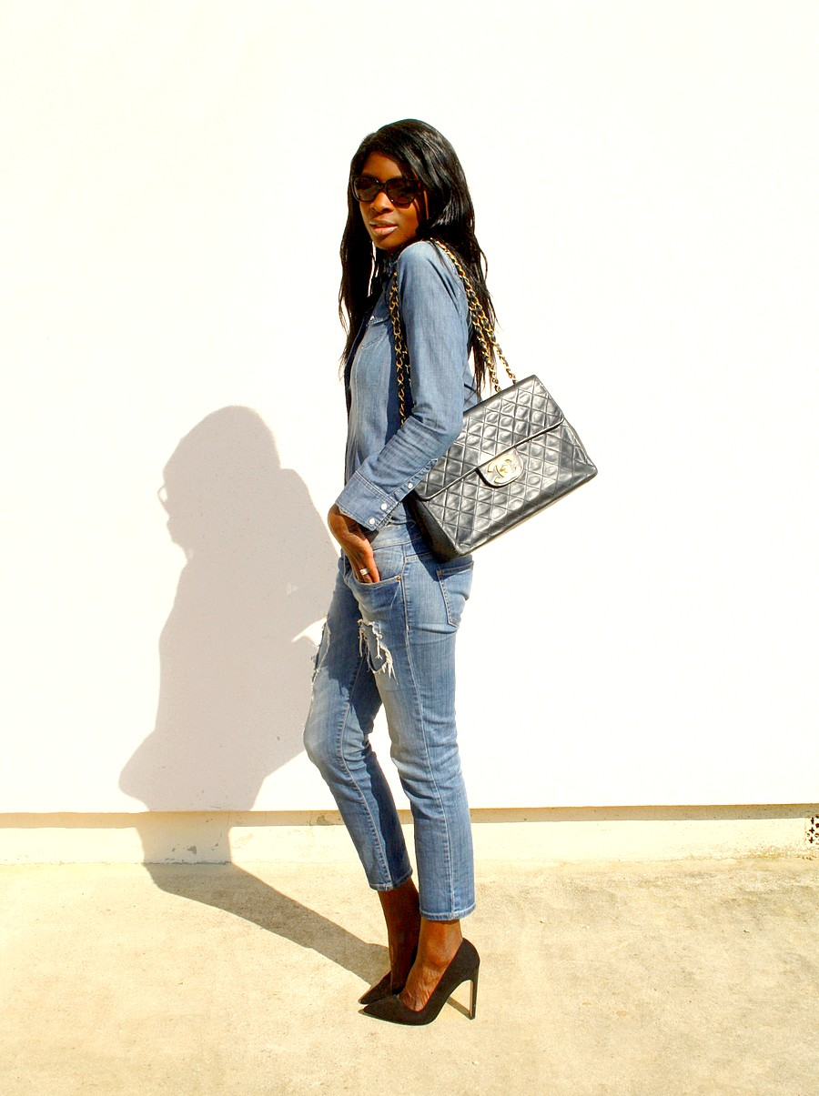 total-look-denim-sac-chanel-jumbo-xl