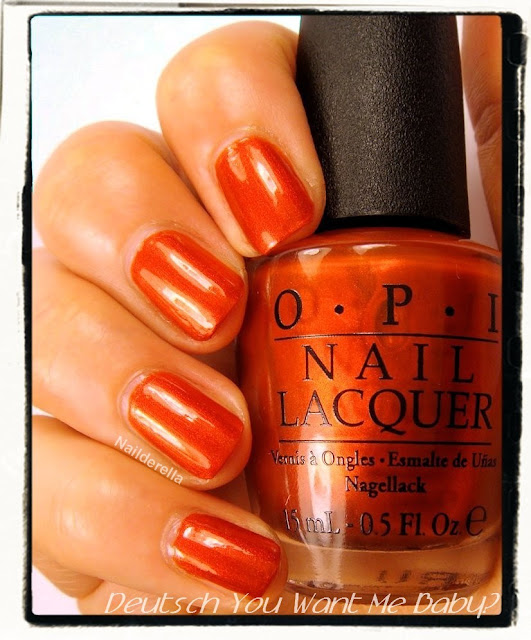 Opi Germany The Gems Swatches Nailderella