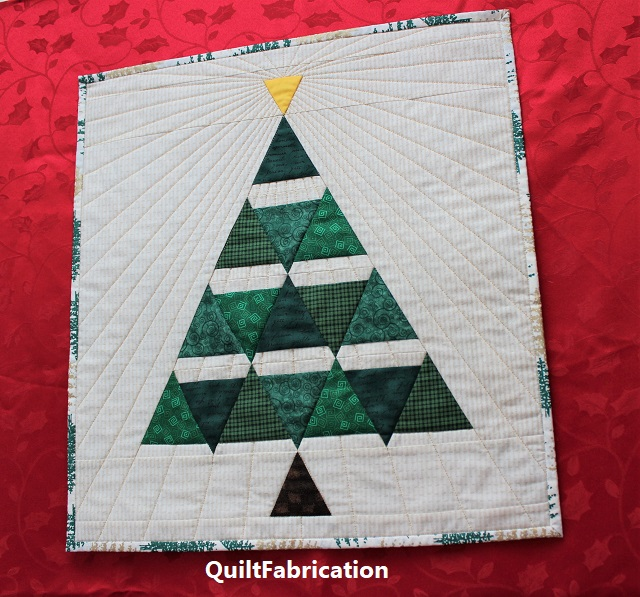 Yuletide Fir by QuiltFabrication