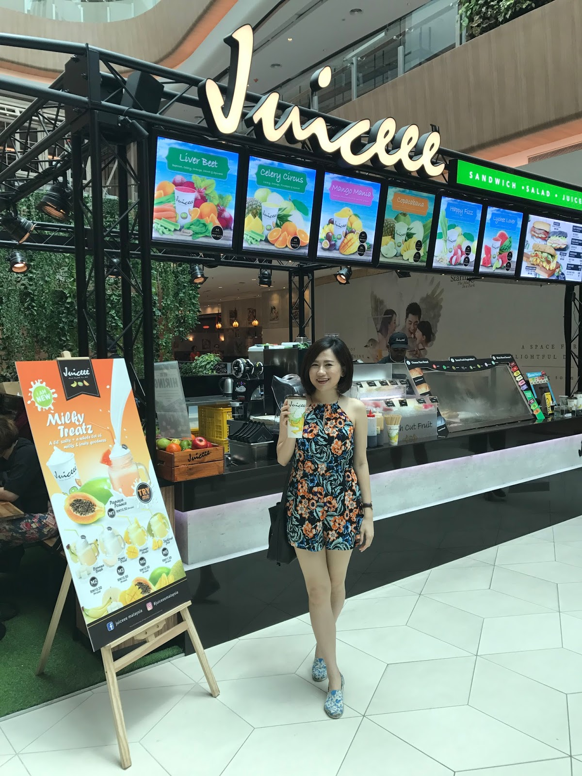 Juiceee Malaysia Continues to Innovate with Healthy Juice Drinks for all Malaysian @ The Starling Mall