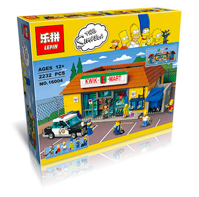 its-not-lego.blogspot.com, lepin 16004 kwik-e-mart