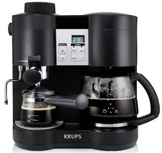 cafetera krups espresso y americano