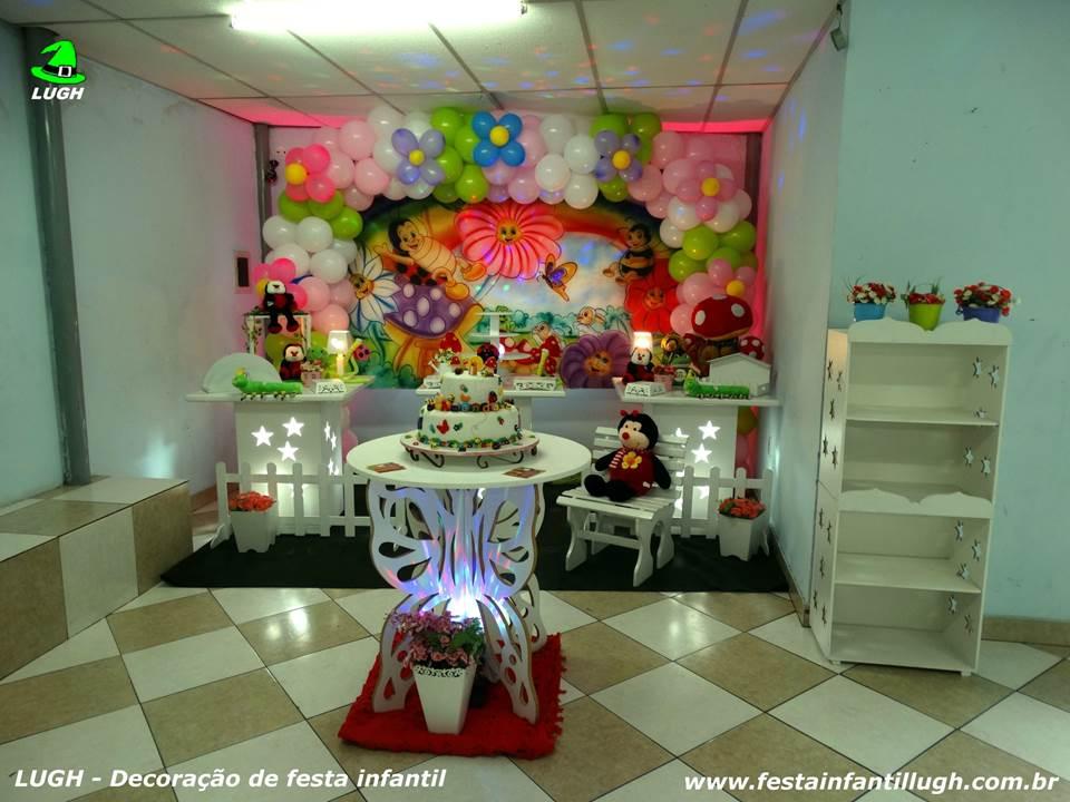 Decoraç u00e3o Jardim Encantado, mesa temática infantil Festa Infantil Lugh