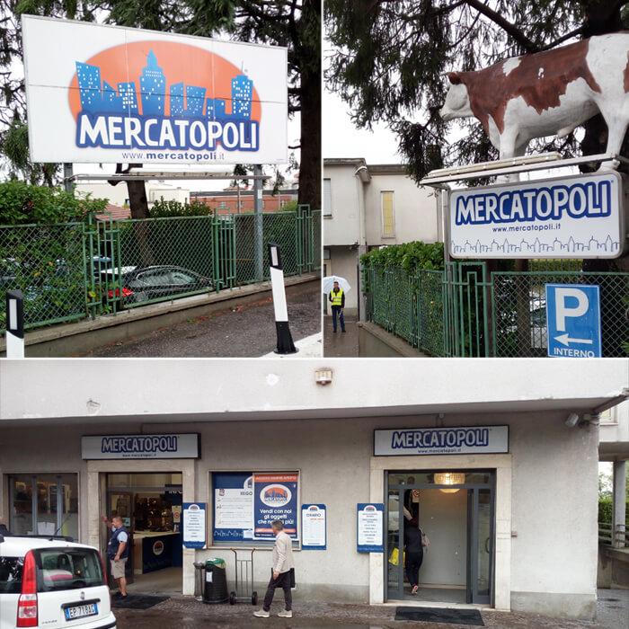 Mercatopoli sede di Villa Guardia
