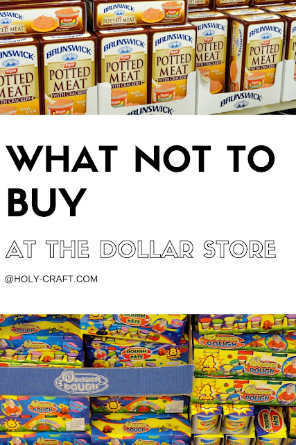 Very best What not to buy at the Dollar Store - Rachel Teodoro JZ87