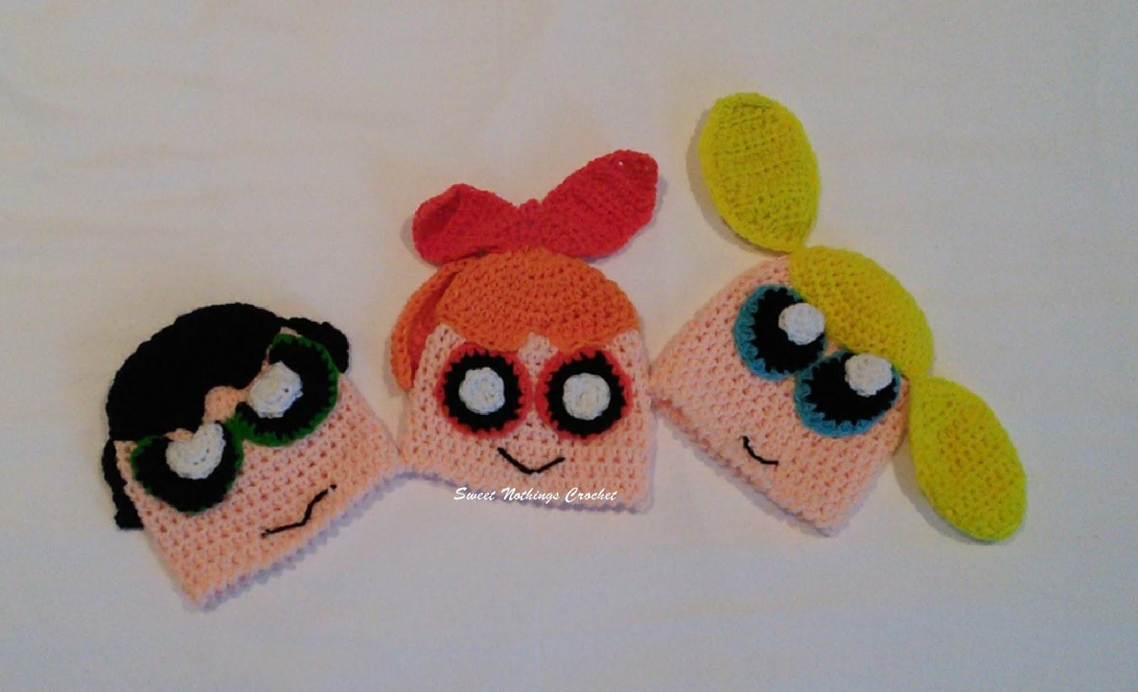 Ravelry: Amigurumi Powerpuff Girls pattern by Jenn Mulherin | 974x1600