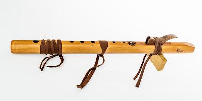Flauta nativa americana Ritual Sound-kiowa