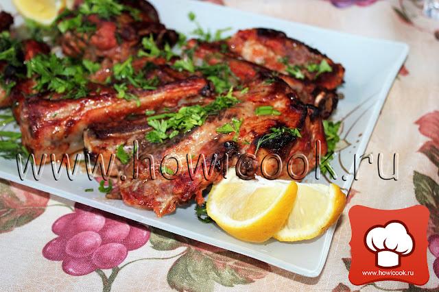 Свиные ребрышки по-канадски рецепт пошаговые фото