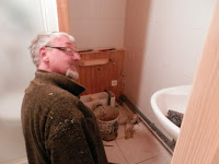 Fitting a new bathroom in France