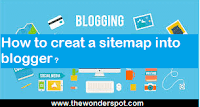 How to add Sitemap into Blogger blog