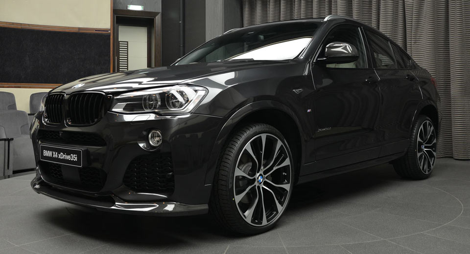 bmw x4 looks the goods with m performance and 3d design parts. Black Bedroom Furniture Sets. Home Design Ideas