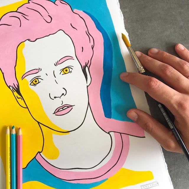 Sanz I Villa, Ilustrador que hace maravillas con 3 colores - 13