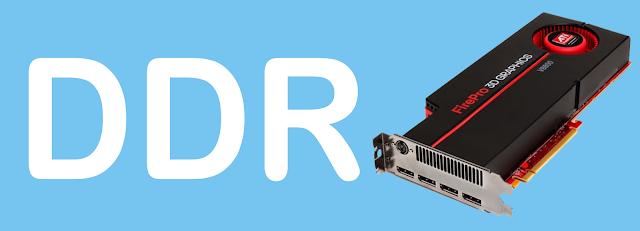Apa itu, Arti, Fungsi, dan Perbedaan DDR1,2,3,4,5 dan 6 pada VGA Komputer