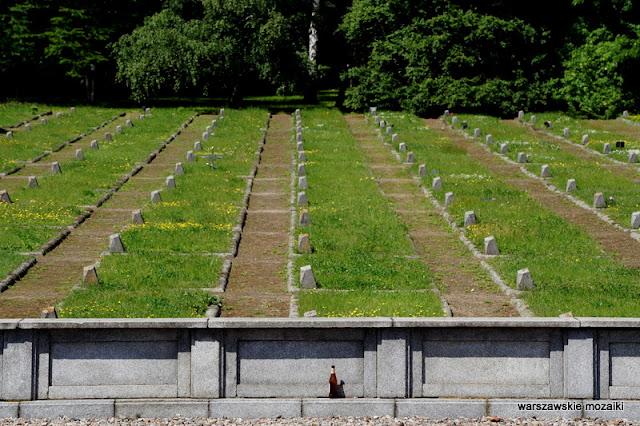 Warszawa Warsaw cmentarz mauzoleum Mokotów