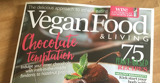 Vegan food and living feature on The Science of Chocolate