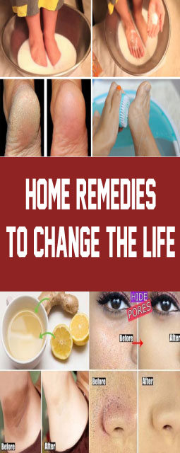 Home Remedies To Change The Life