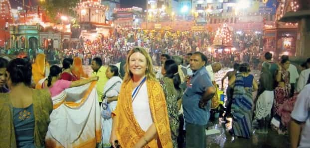 Haridwar Visit by Foreigner