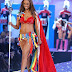 Tyra Banks wears 'long trains' as she walks in the Victoria's Secret Fashion Show