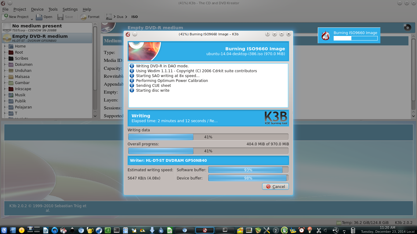 How To Burn ISO DVD with K3B