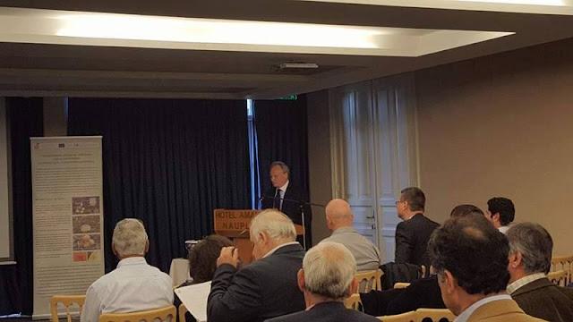Ο Γιάννης Ανδριανός στην ενημερωτική εκδήλωση για την αντιμετώπιση των παθήσεων των εσπεριδοειδών στο Ναύπλιο