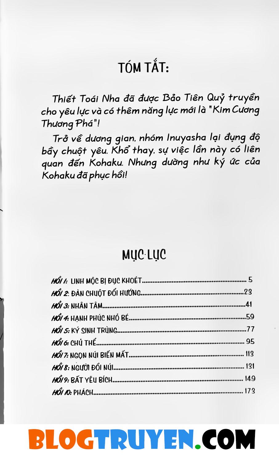 Inuyasha vol 34.1 trang 2
