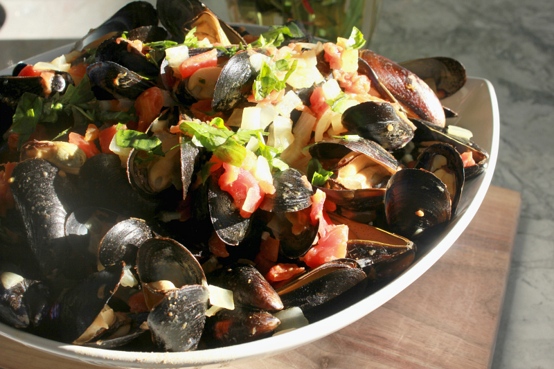 Coconut Curry Mussels Recipe