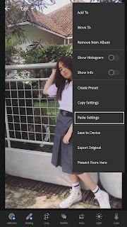 Menambahkan Preset Lightroom Android