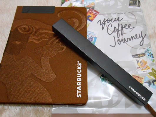 Your 2015 Journey: A Starbucks Planner Preview and Giveaway