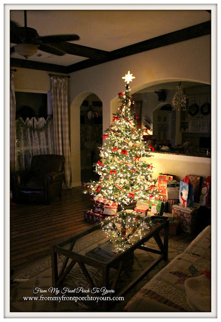 Farmhouse Christmas Tree-French Farmhouse Christmas-From My Front Porch To Yours