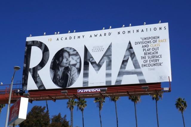 Yalitza Aparicio Roma billboard