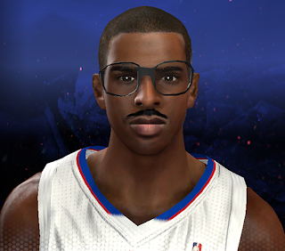 NBA 2K14 Cliff Paul Cyberface Mod
