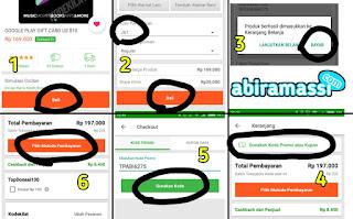 Cara Membeli Voucher Google Play Card USD di Tokopedia