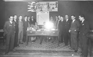 Entrega de premios del III Campeonato del Club Ajedrez Manresa en 1931