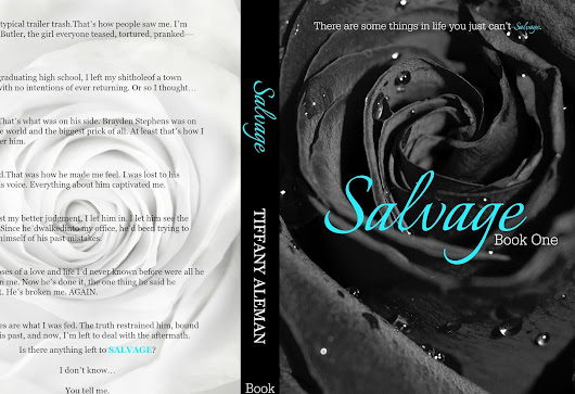 Salvage by Tiffany Aleman COVER REVEAL