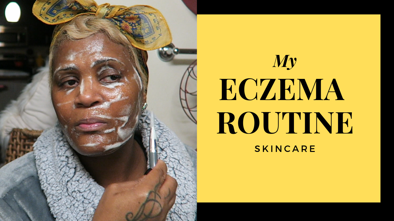 Image: Tangie Bell sharing her eczema skincare routine. Seen first on Bits and Babbles blog