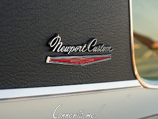 Chrysler Newport Custom B-Pillar Badge
