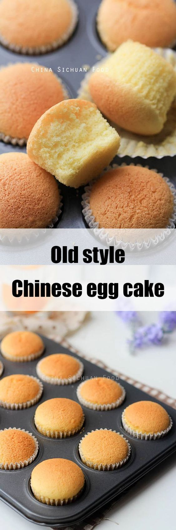 Chinese Egg Cake Recipe