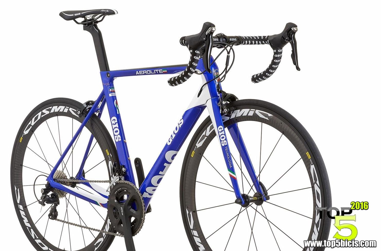 GIOS AEROLITE, una marca de otra época con bicis actuales - TOP 5 ...