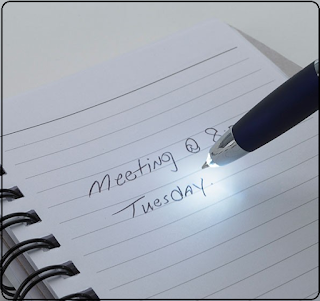Promotional Pens With Flashlight - work for studying