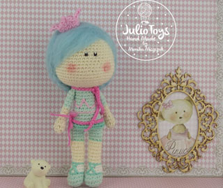 Little Princess crochet pattern Juliotoys