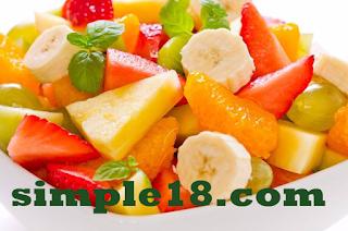 طريقة عمل سلطة الموز والبرتقال