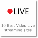 10 Best Video Live streaming sites