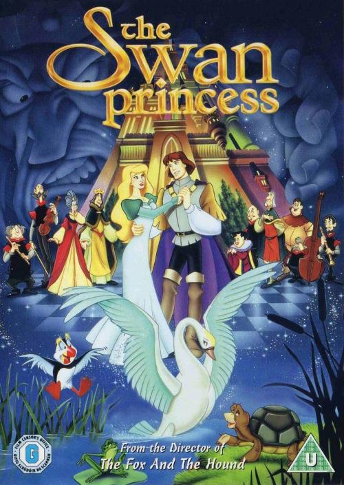 The Swan Princess Odette Wallpaper