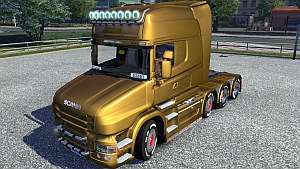 Metallic Paintjobs for Scania T