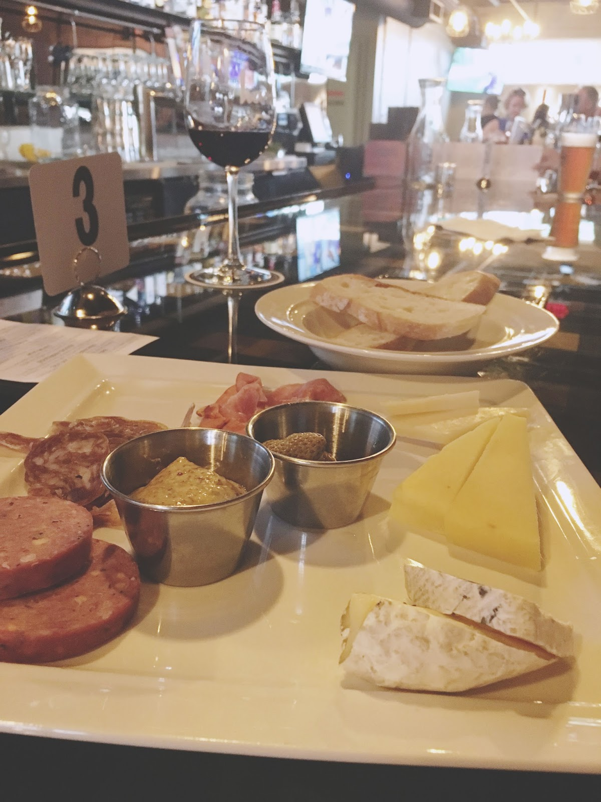 charcuterie and cheese at Harold's Tap Room - A bar/restaurant in Houston, Texas