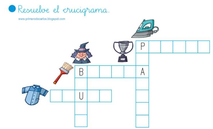 Maestra de Primaria: Pasatiempos y crucigramas para jugar. Vocabulario.