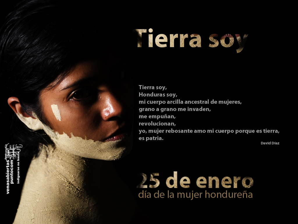 Honduras mujer de noche