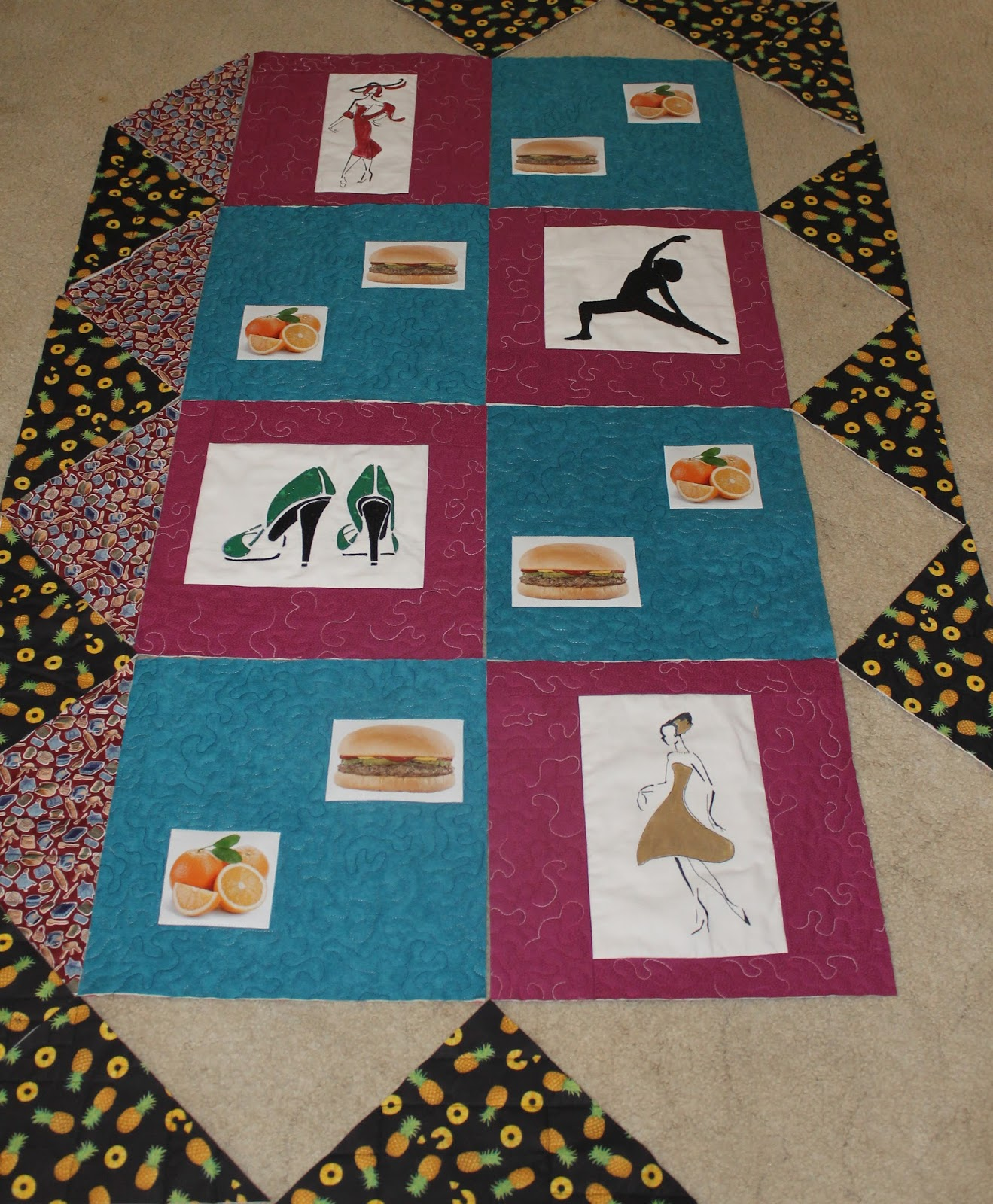 I Purr-Furr to Craft: Aussie Hero Quilt Continued.