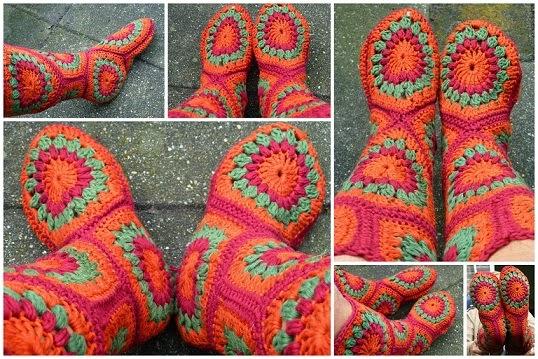 Lindevrouwsweb Hexagon Boots
