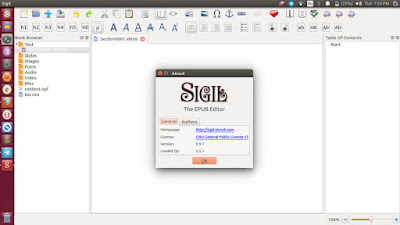 How to Install and Update Sigil ePub Ebook Editor in Linux